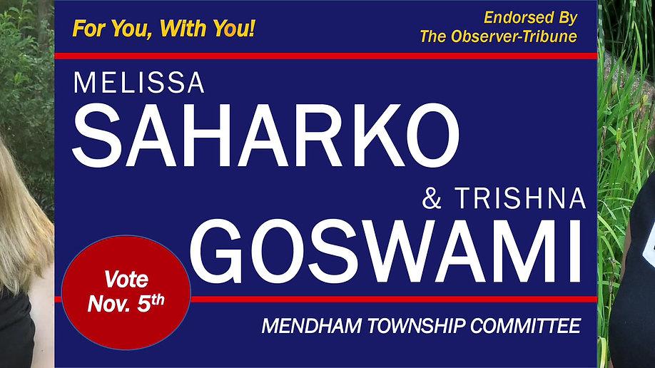 A Message from Melissa Saharko and Trishna Goswami