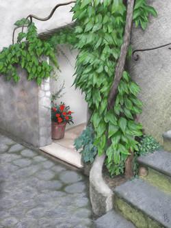 Little Red Flower Pot