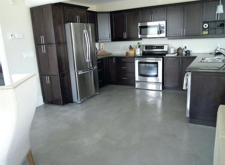 WHERE ARE CONCRETE FLOORS USED?