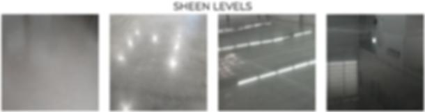 sheen levels