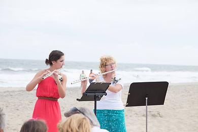 Flutopia beach wedding music