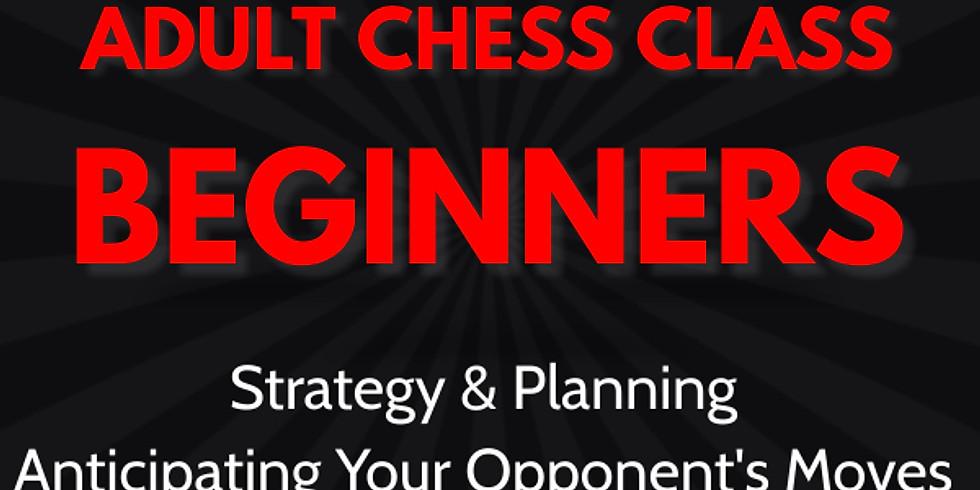 Adult Chess Class: Beginners