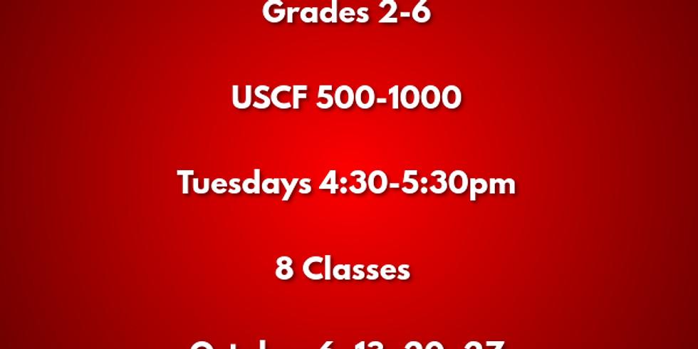Chess Class I (Grades 2 - 6, USCF 500-1000)