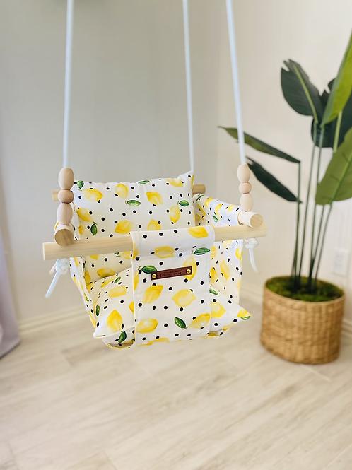 Lemon 🍋 Regular Back Baby Swing