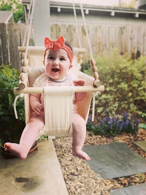 Outdoor Natural Baby Swing
