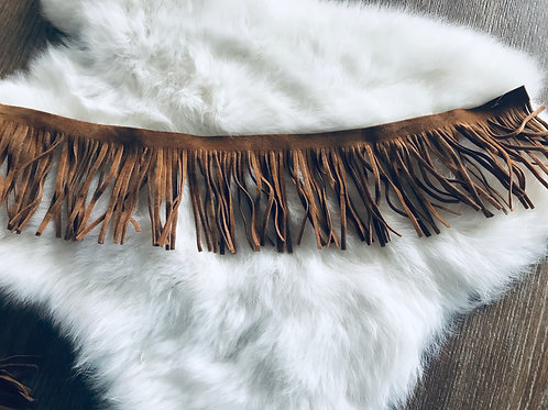 Suede Fringe Add On