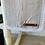 Thumbnail: White Fringe Swaddle/Muslin Baby Swaddle