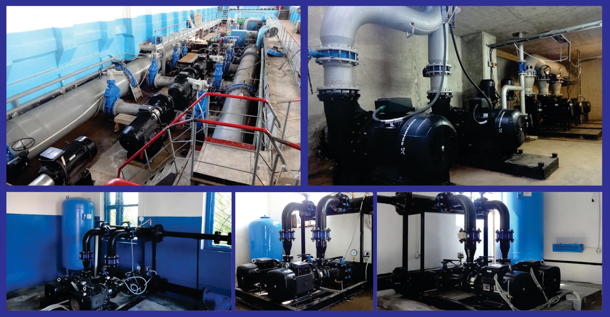 2014 г. 100% модернизация насосного парка водоканала г.Атырау