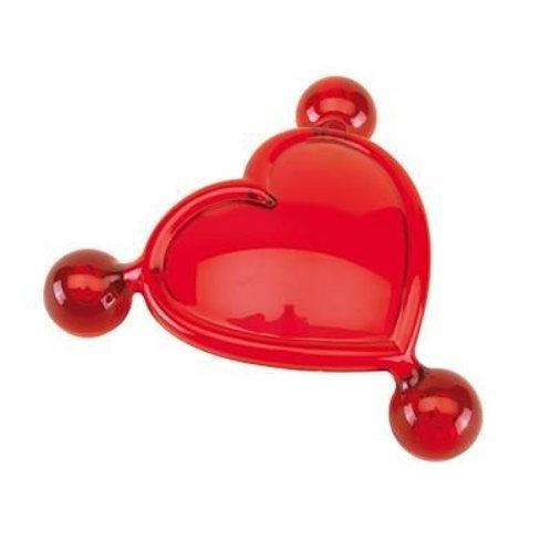 Heart shape massage roller