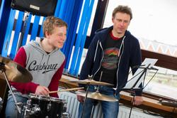 Drums spielen