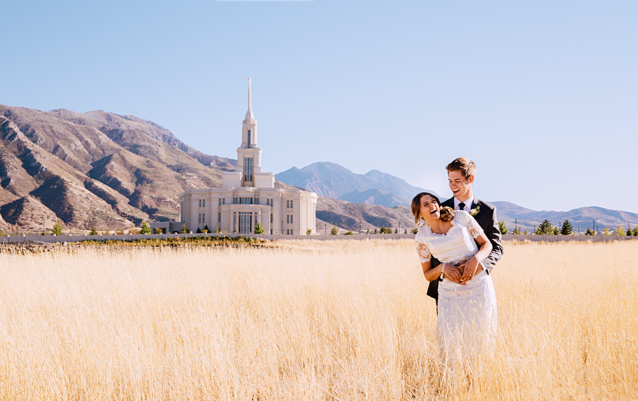 Payson Utah wedding photographer