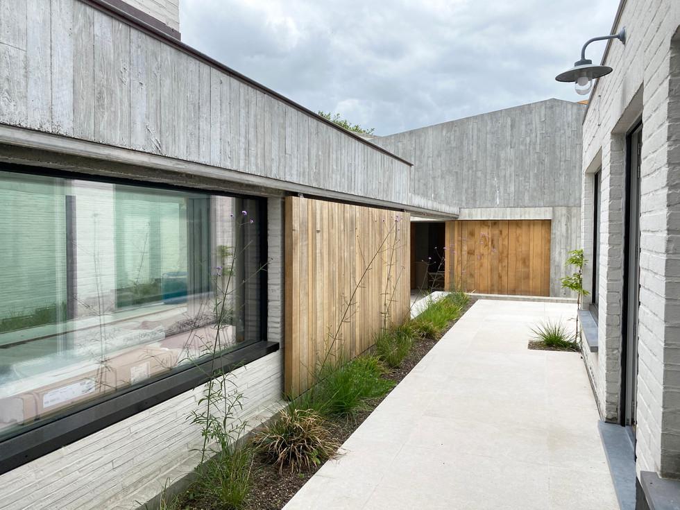 renovation of house in Knokke