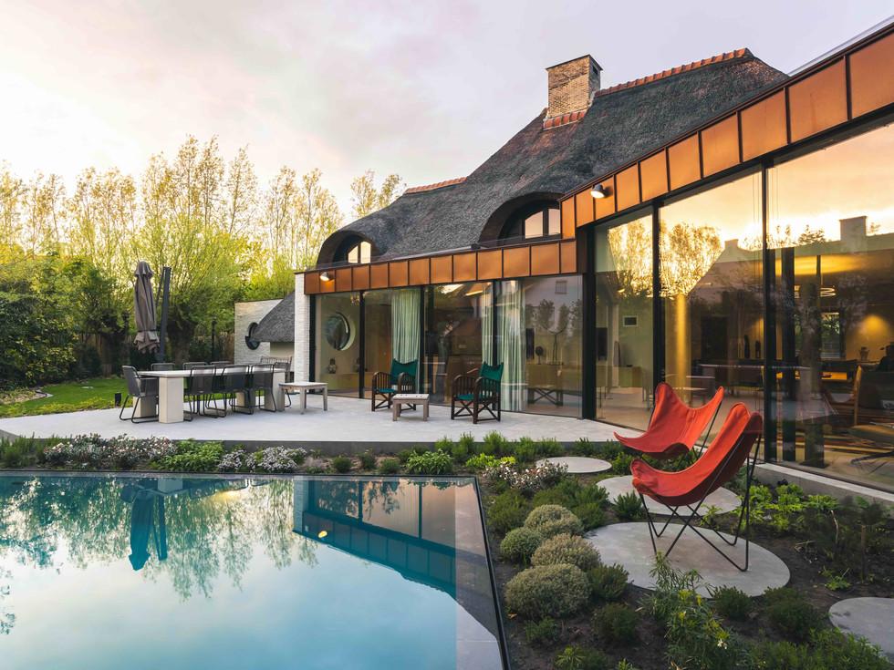 renovation of a villa in Knokke