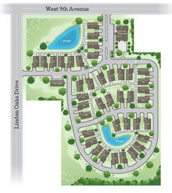 Liden Oaks Site Plan