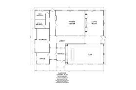 Club House Floor Plan