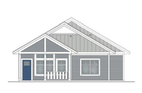 Exterior Elevation Front