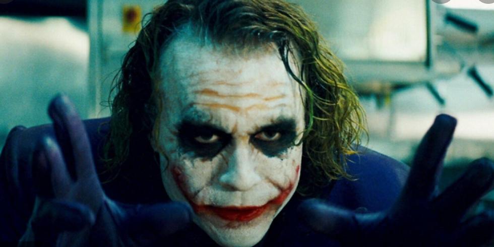 "🎃Halloween Paint Party: ""The Joker"" (from The Dark Knight)"