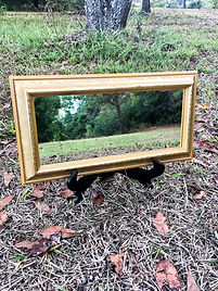 small mirror for wedding