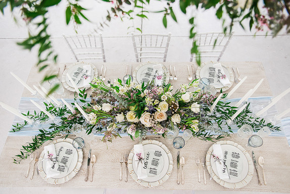 acrylic wedding decor, Allie Miller Photography