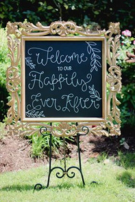 happily ever after sign, Mel O'Berry Pho