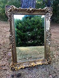 wedding mirror calligraphy