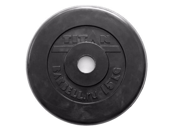 Диск для штанги Titan - 15 кг.