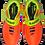 Бутсы многошиповые Rapido JSH3001-Y, оранжевый