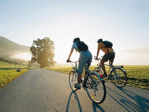 18 преимуществ езды на велосипеде.