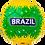 Thumbnail: Мяч футбольный Brazil №5