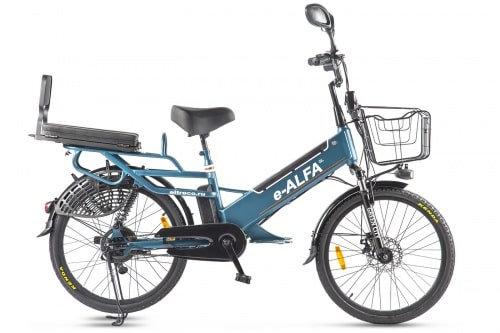 Велогибрид GREEN CITY e-ALFA GL (2021)