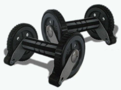 Ролик гимнастический с тормозом безопастности.