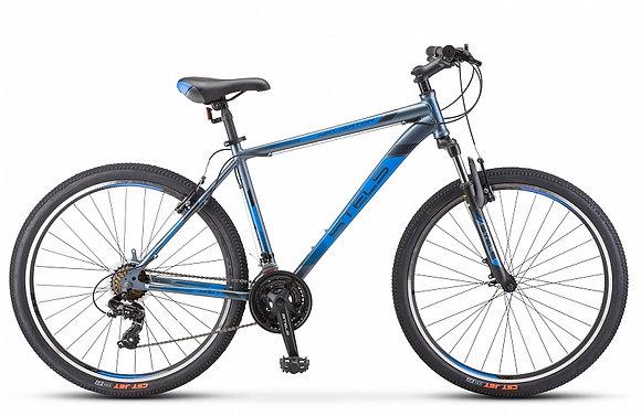 """Велосипед Stels Navigator-700 V 27.5"""" F010 - черно-синий"""