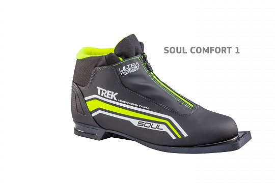 Ботинки лыжные TREK 75 мм Soul Comfort