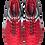 Бутсы зальные (футзалки) Mondo JSH4002-Y, красный