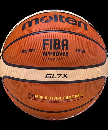 Мяч баскетбольный BGL7X-RFB №7, FIBA approved
