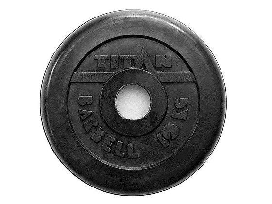 Диск для штанги Titan - 10 кг.