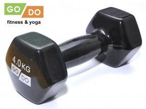 Гантель виниловая GO DO - 4 кг.