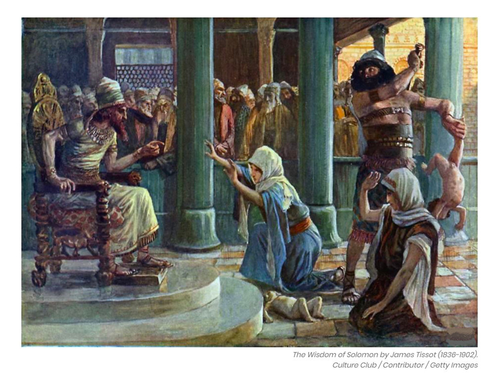 Baby solomons wisdom Solomon Sunday