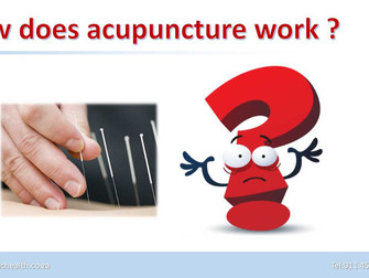 Officials said India recognizes acupuncture as healthcare therapy