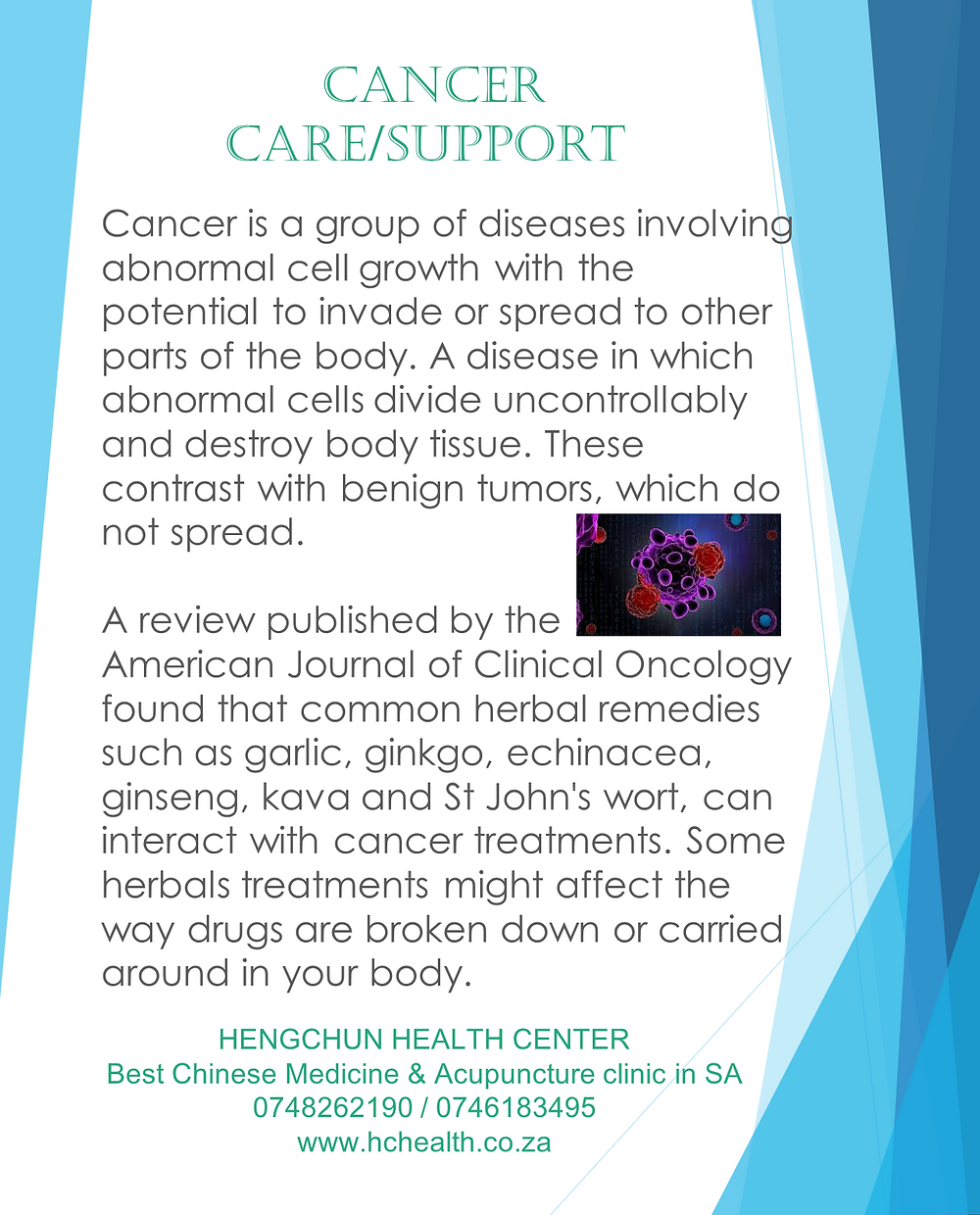 Cancer care/support