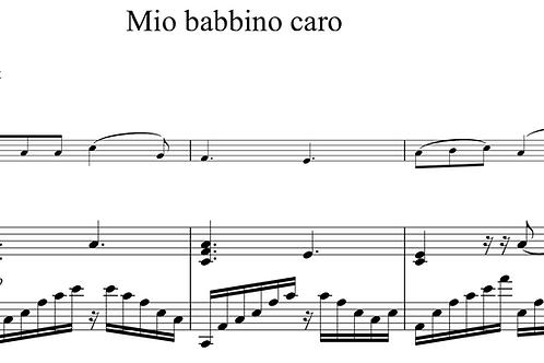 Mio Babbino Caro - Puccini arr. by C. Adomeit