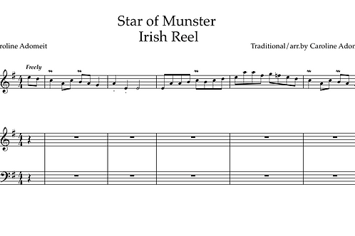 Star of Munster arr. by C. Adomeit