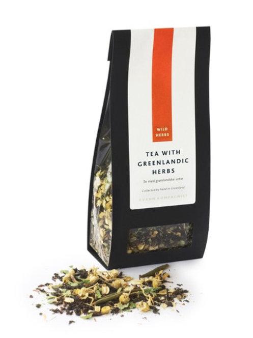 GREENLANDIC HERBAL TEA 40g.