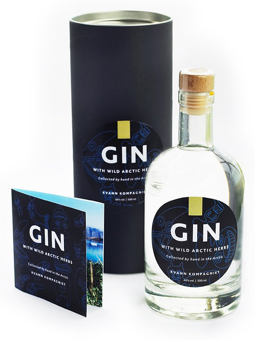 GIN WITH WILD ARCTIC HERBS 50 cl./5 cl.