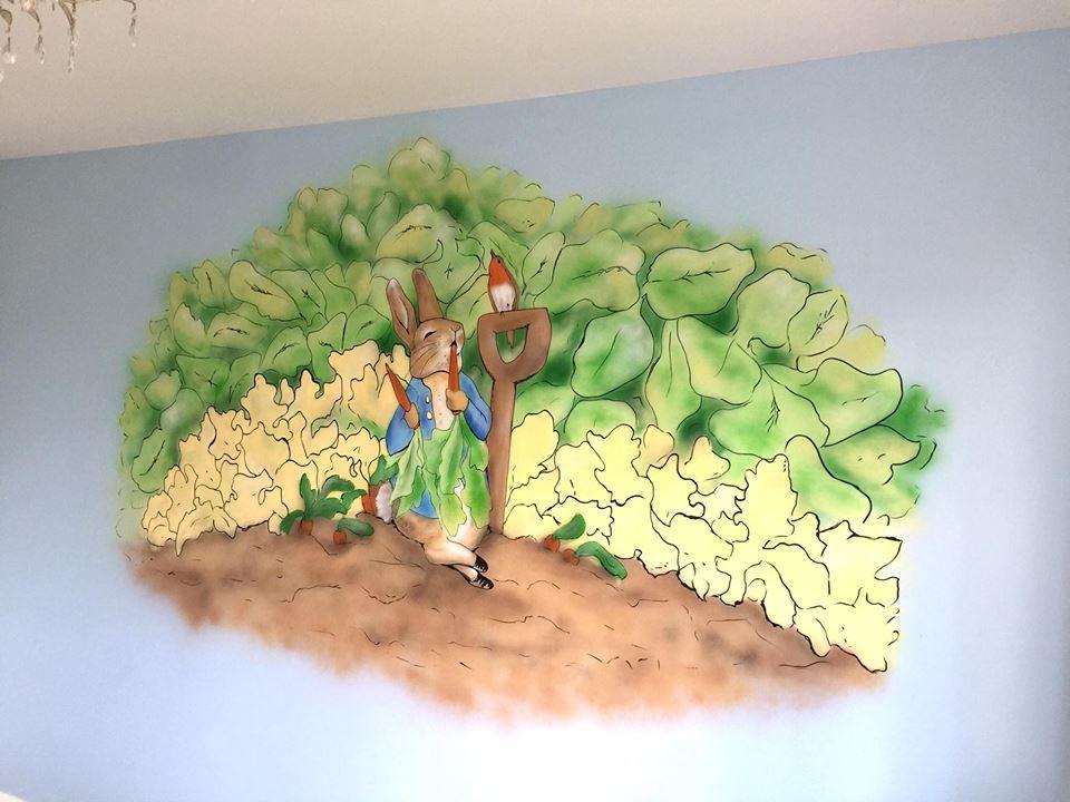 Peter Rabbit Wall Mural