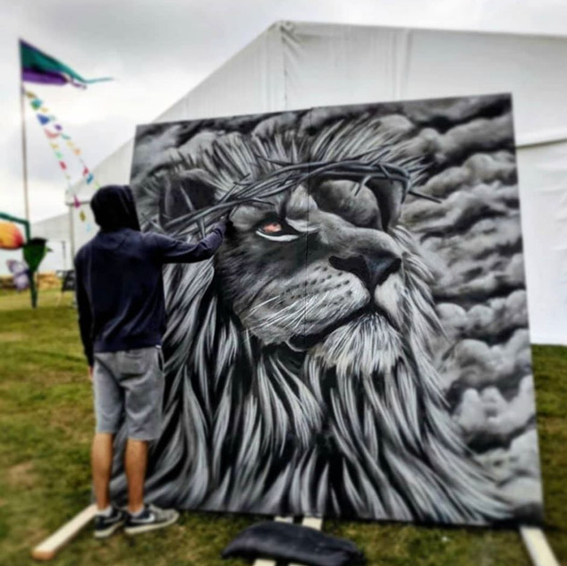 Personal Legal Street Art at Festivals