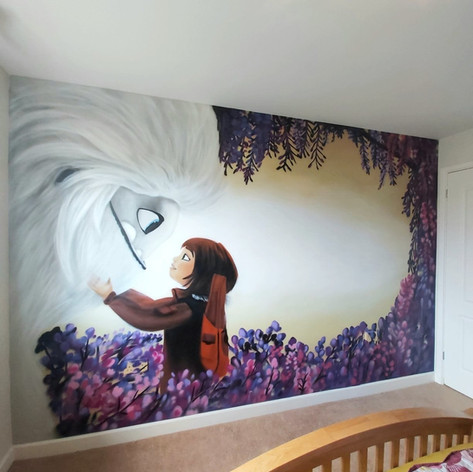 Abominable Interior Wall Mural
