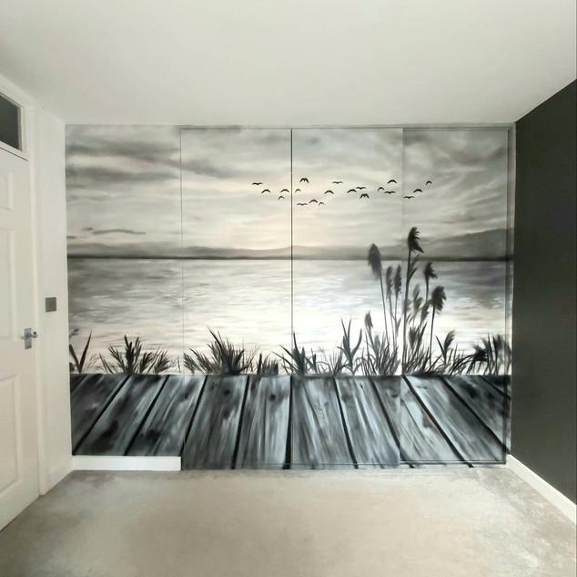 Sliding Wardrobe Interior Mural