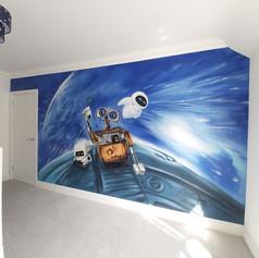 Wall.E Interior Wall Mural