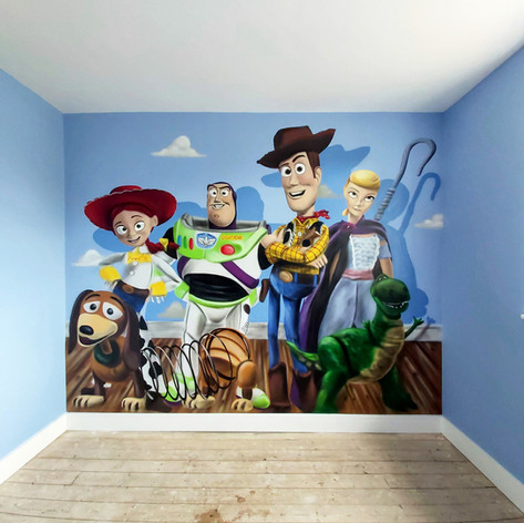 Toy Story 4 Interior Wall Mural